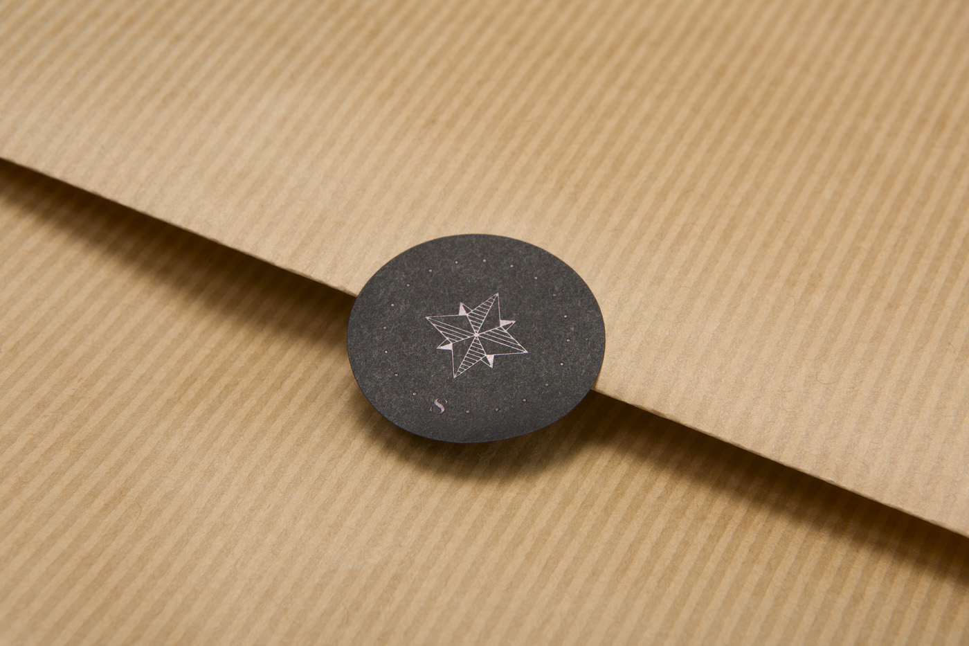 Foil stamped stickers for Shantanu Starick on Colorplan 1