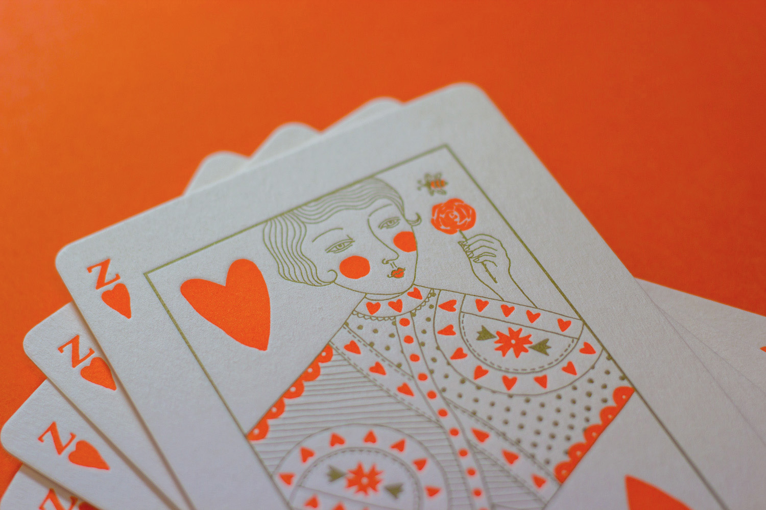 Unique letterpress wedding invitations for Hamish Blake and Zoe Foster-Blake illustrated by Allison Colpoys 3