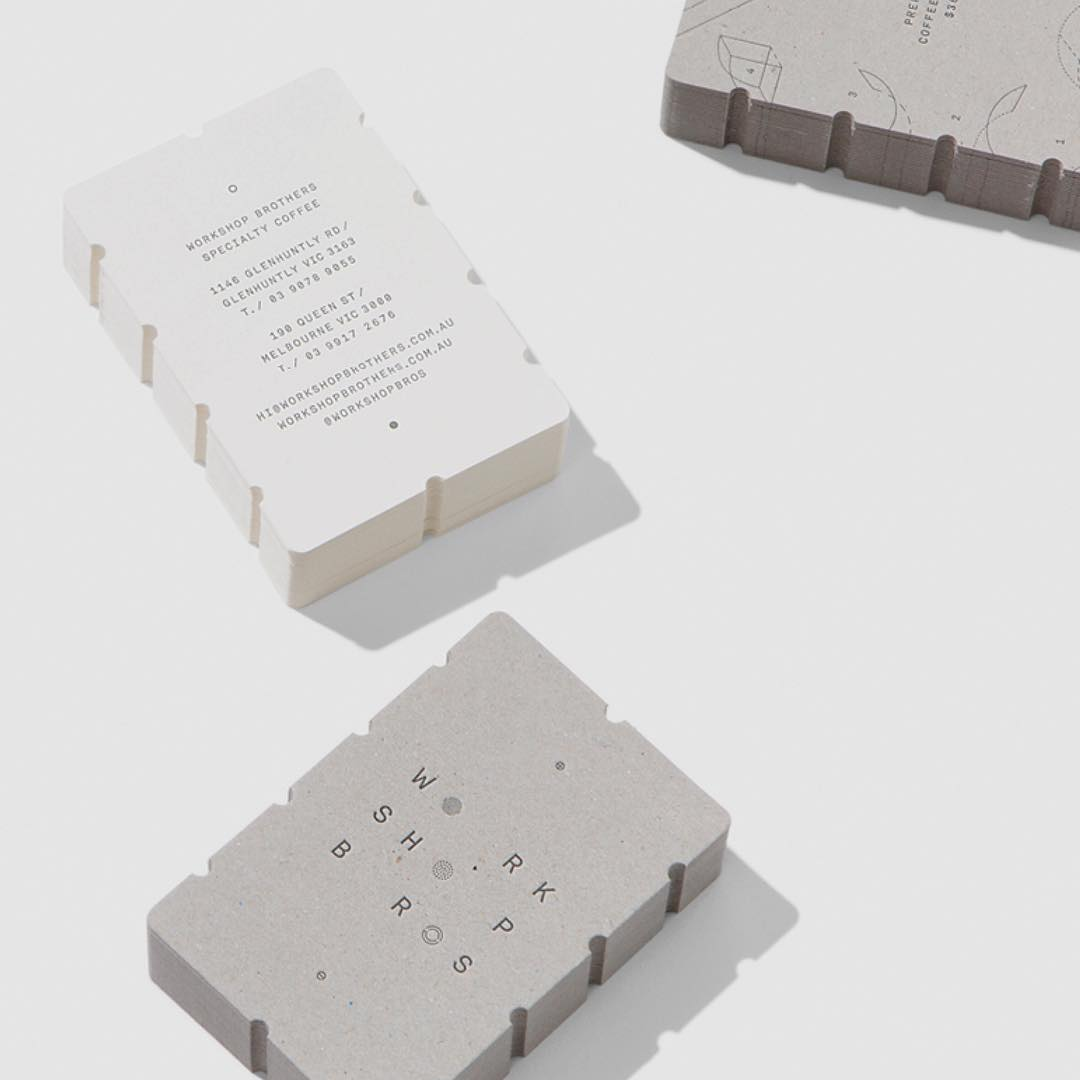 Premium Business Cards for Workshop Brothers on Colorplan 2