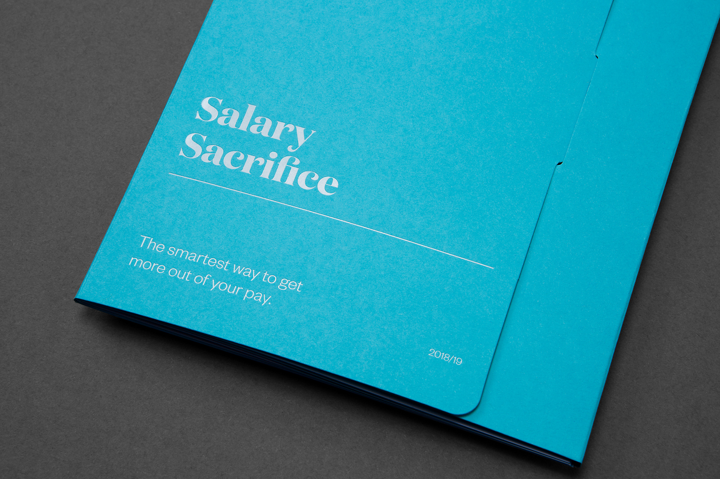 Object design for legalsuper booklet on Colorplan